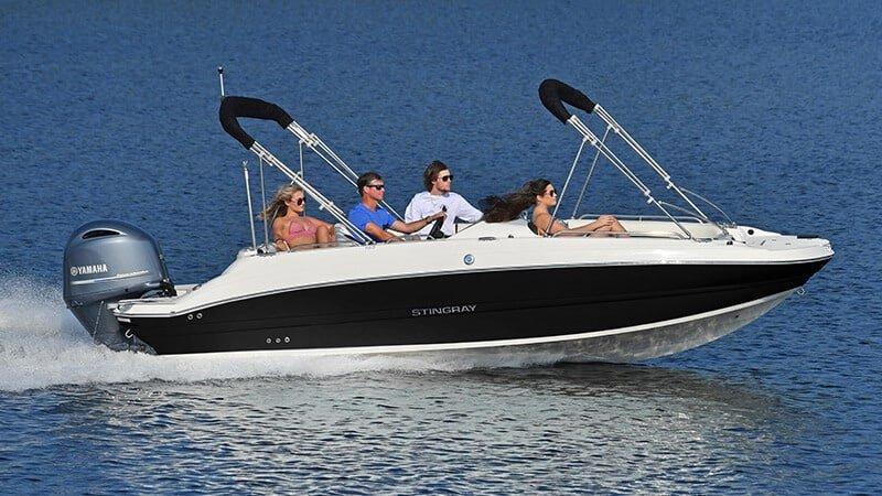 192SC Deck Boat