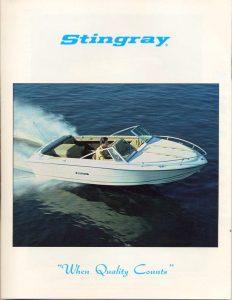 1980 Stingray Catalog Cover