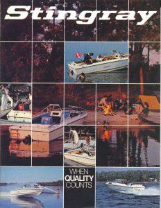 1982 Stingray Catalog Cover