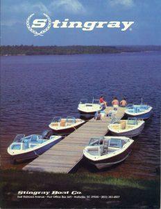 1983 Stingray Catalog Cover