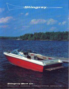 1984 Stingray Catalog Cover