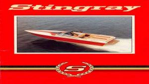1986 Stingray Catalog Cover