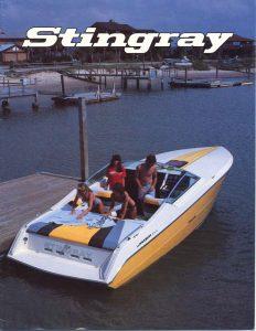 1988 Stingray Catalog Cover