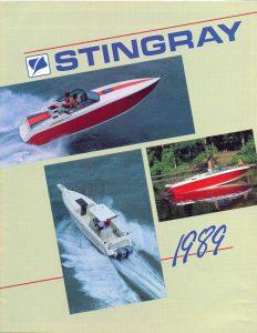 1989 Stingray Catalog Cover