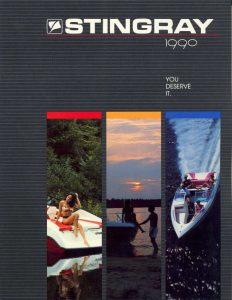 1990 Stingray Catalog Cover