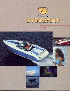 1991 Stingray Catalog Cover