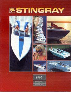 1992 Stingray Catalog Cover