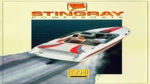 1994 Stingray Catalog Cover
