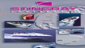 1995 Stingray Catalog Cover