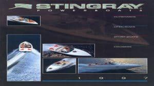 1997 Stingray Catalog Cover
