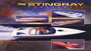 1998 Stingray Catalog Cover