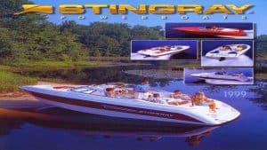 1999 Stingray Catalog Cover