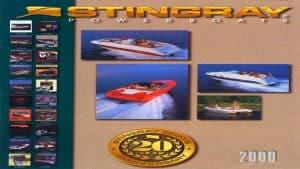 2000 Stingray Catalog Cover