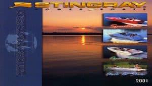 2001 Stingray Catalog Cover