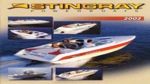 2002 Stingray Catalog Cover