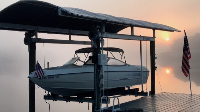 Stingray Owners Gallery - Docked Boat
